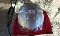 Never dropped, great condition Bell Helmet size L with carrying bag. No longer needed, yours for $50