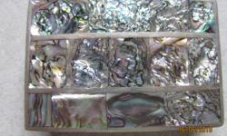 Belt Buckel (mother of pearl inlay)