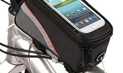 Bicycle Bike Frame Phone Bag - 1.5L - Red - L19.5 x W10 x H9 cm - brand new in package - $25 firm PRODUCT DESCRIPTION: Get the most from all your apps with this toptube carrier. A clear window lets you read cycling data or GPS directions and operate