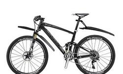 Bicycle Bike Front & Back Fenders Mudguards - Black - suitable for most mountain bike - brand new, never installed - $40 firm INCLUDES: - 1x front fender mudguard - 1x rear fender mudguard Front Fender Mudguard: - Special expander fits into fork stem and