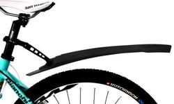 Bicycle Bike Rear Fender Mudguard - Black - durable, high-impact plastic - fits most size seat tube - articulating adjustable angle - brand new, never installed - $20 firm INCLUDES: - 1x rear fender mudguard