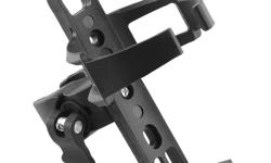 Bicycle Bike Water Bottle Cage Holder with Handlebar Clamp Mount - Black - plastic material - fits tubes 15-42mm - brand new - $15 firm