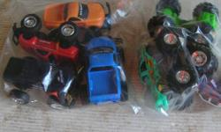(((Open this ad to view all that is listed.))) BIG WHEELS. $5.00 - 4 BIG WHEELS APPROXIMATELY 12 cm. LONG. (PICTURE 1) $5.00 - 3 BIG WHEELS APPROXIMATELY 11 cm. LONG. (PICTURE 2) All in good to very good condition. Its a house number so texting will not