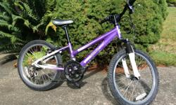Adams Starlet bike with 12 gears 20 inch diameter wheels. Good condition
