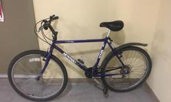 I am selling my bike for $60 or the highest offer because I am leaving the island in a few days. In the four months I had this bike, everything worked perfectly. It has a 17 inch frame (I'm 1.66m and it fitted perfectly), 12 gears and comes with a free