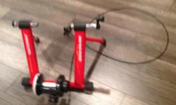 Mag 500 stationary bike trainer please text me at 306-535-1694
