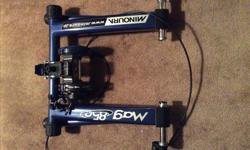 Minoura bike trainer.