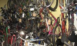 40+ Used Bikes All sizes types etc From $10 to $300 Good to Excellent Condition, fully tuned up from Recyclore Bicycle Recyling (Nonprofit) www.recyclore.org 275B Britannia Road, Ottawa, ON Sat 12 - 5 PM Weds 5 - 8 PM