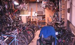 Volunteer Bike Coop Recondition and sell used bicycles / stock constantly changing Location and Hours http://recyclore.org/?q=content/address 175b Britannia Road, Ottawa, ON