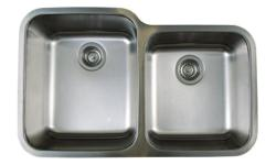 BLANCO Stellar U1-3/4 Stainless Steel Undermount Double Sink (401026) - brand new with box, never installed - $450 firm PRODUCT FEATURES: - German designed and engineered - Premium 304 series, 18 gauge stainless steel - 18/10 chrome-nickel content for