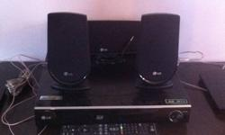 I have a LG Blue Ray Surround Sound system for sale,Brand new comes with 3 speakers and 2 tower speakers