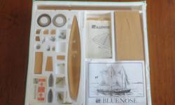 Looking for a great Christmas gift? Complete kit for a model Bluenose. Still on original package as illustrated in the photos. Price when purchased was $49 as you can see on the sticker. Can meet-up in Sidney as I'm there from time to time.