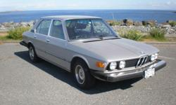 Make BMW Model 530i Year 1977 Colour Polaris Silver kms 177300 Trans Automatic BMW 1977 530i Four Door Automatic Transmission Engine: L6-2985cc 3.0L 177,300 km Polaris Silver Fair Condition - The car is for sale by the original owner and has always been