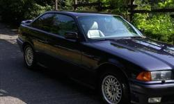 Make BMW Model 325i Year 1995 Colour Midnight Purple kms 168000 Trans Automatic Reliable and looks great ! This car is in awesome shape and excellent driving condition. It is equipped with a good selection of options including: -Climate control for A/C