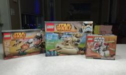 New unopened boxes. $50 for everything or priced individually below $25 AAT (retail $30 + tax) $20 Ezra's Speeder Bike ( retail $25 + tax) $10 Republic Gunship (retail $13 + tax) ------------------------------------------- See other stuff I'm selling at