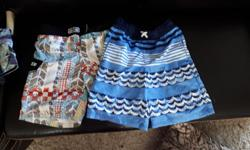 1st picture. Size large (14) 2nd picture. Size Med (12) $15 for the lot. In great used condition.