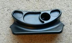 BOB stroller cup and snack tray accessory - good condition