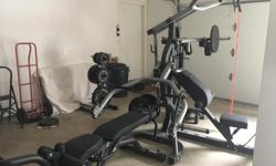 BL460P4 Body Solid free weight Leverage Gym in as new condition . Open to reasonable offers. View full specs: at body solid site http://www.bodysolid.com/Home/SBL460P4/Freeweight_Leverage_Gym/Features