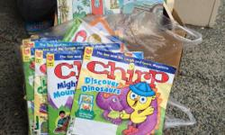 Includes over a year of gently used Chirp magazines!