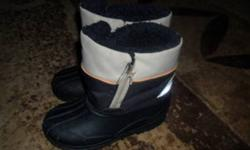 $3 each: Young boy's size 10 winter boots, size 10 Spiderman rain boots, and size 11 black rain boots. Smoke-free home. Please view my other ads as well!