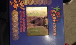 """""""Young Collectors"""" 2008 Australian Animal $1 Coins. Brand new, in all original packaging. Great for children to teach them about collectible coins and money. Asking $45 obo."""