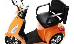 Gio MS-3 electric scooter is designed for mobile comfort and stable, easy-to-use operation. Everything is sized-up on the MS-3 to make it our most comfortable ride yet, and it is our only scooter to feature three-wheel operation for extra stability. The