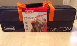COLEMAN Badminton Set. Still in the box. Never been used. Perfect gift! :D $35 OBO