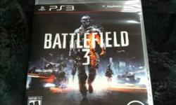 Brand new game, still sealed. Battlefield 3 for PS3. Pick up or can meet up in Richmond area. If you can pay by PayPal then I can also post it. I'm also selling NHL12, Need For Speed: The Run and Battlefield 3 for PS3 and also Star Wars The Old Republic