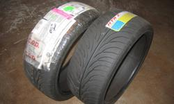 """Two (2) brand new 245/35R20 Sumitomo HTR Z II tires for Sale.  Still wrapped in shipping packaging and never used.  These are low profile, 10"""" wide, speed rated, steel belted, tubeless, tires intended for my Nissan 350Z.  Sold the car and no longer need"""