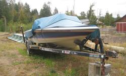 1988 19' Brendella Ski Boat with 21' trailer. This boat has been well enjoyed and is looking for a new family to take her out on the water again.