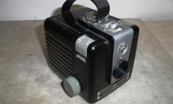 Produced from 1949 to 1961 - immensely popular camera at the time and you can still get film for it.