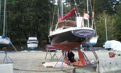 1975 C&C Viking 28ft, well maintained. Must sell for health reasons. Nissan 8 hp outboard in good running order, in stern-well. New mainsail. New canvas 2009. Genoa roller furling added 2012. Moorage negotiable. Any offer considered.