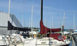 1975 Viking 28 Racer/Cruiser. Price Reduced. Must sell for health reasons. C&C design built by Ontario Yachts. Well maintained. New canvas 2009. 8hp Nissan outboard in good running order in stern well. New mainsail. Roller furling added to genoa in 2012.
