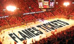 We have tickets to the following upcoming Flames home games for sale: February 3 vs Chicago Blackhawks SOLD OUT February 11 vs Vancouver Canucks SOLD OUT February 14 vs Toronto Maple Leafs SOLD OUT February 21 vs Edmonton Oilers - 2 Tickets in Section