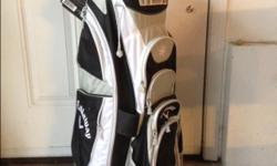 Brand new, Callaway cart bag has never been used.