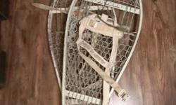 Canadian Military Issue Magnesium Snowshoes **Used $65 or best offer** Constructed to military specifications. Ultra-light magnesium alloy frame with welded grip cleats. Aluminium wire lattice Comes with Bindings and one extra Can ship at buyers expense