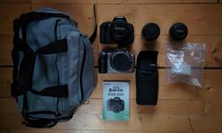 A great deal for someone who is new to photography! This little package is a must have for an adventurous person who is keen to go out and take some amazing snaps. Below are two examples what this camera can do. Ive got for sale two DSRLs. Both of which