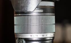 I have for sale a Canon EF-S 18-200mm f 3.5-5.6 IS standard zoom lens. Comes with lens hood and protective filter.