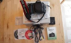 For Sale: Canon 5D Mark II + SanDisk Ultra 8GB CF Card In excellent condition with all original components. There are a few scuff marks on the bottom from being taken on and off the tripod. Approximately 25,000 actuations. The EOS 5D Mark II has a