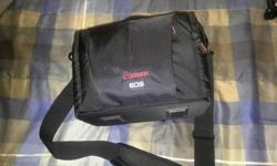 I got this bag as part of a kit but I already have several camera bags and I really have no use for this one. I've only used it a couple of times so it is still in pretty much new condition. It includes a handy dedicated rain cover that is hidden in the