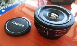 We'll known pancake lens, small and super light, unfortunately I don't use it enough to keep it. Like new condition $160