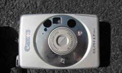 Canon Elph LT260 Film Camera Barely used - in excellent condition 3 rolls of film Camera case