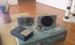 No longer using them, 2 Canon cameras and 2 cases. Open to offers. See pictures.