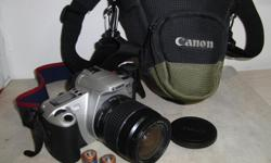 Excellent condition with a 28-80 Zoom Auto-Focus Lens Collectible first of it's kind A/F Camera More info here: http://www.photographyreview.com/product/cameras/film-cameras/35mm/canon/eos-rebel-2000-eos-300.html