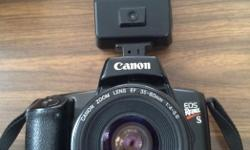 Canon Rebel EOS Carrying case Instruction manual Flash