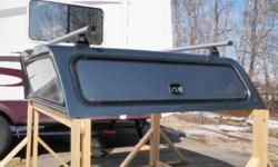 Leer Work Canopy to fit 2007 or newer GMC Shortbox-Blue Has heavy duty roof rack with side doors and shelves.  Paid $3300 Asking $750