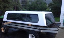 White canopy for 2003 or newer Dodge longbox pu. Like new condition. obo