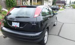 Make Ford Model Focus Year 2006 Colour black kms 180000 Trans Manual 2006 Ford Focus 4 Door Hatchback Sunroof A/C 6 Disc C.D. Player 5 Speed Manual Transmission