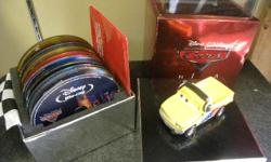 Cars Directors Edition Set on Bluray, inventory #139862-3, Comes with 11 Discs and Collectors Box and Car. Price of $52 includes all taxes. PLEASE REFER TO INVENTORY #139862-3 WHEN INQUIRING. We also have more items for sale at The Bay Street Broker