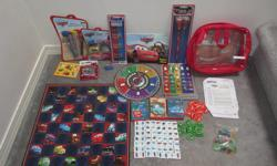 must be sold as a lot. stickers Sticker book erasers pencils pens bingo game checkers dominos card games (go fish, crazy eights, war)